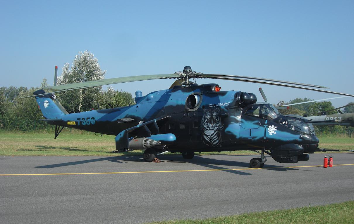 Czechy Mil Mi-24 Nb 7353. 2013 rok. Zdjęcie Karol Placha Hetman