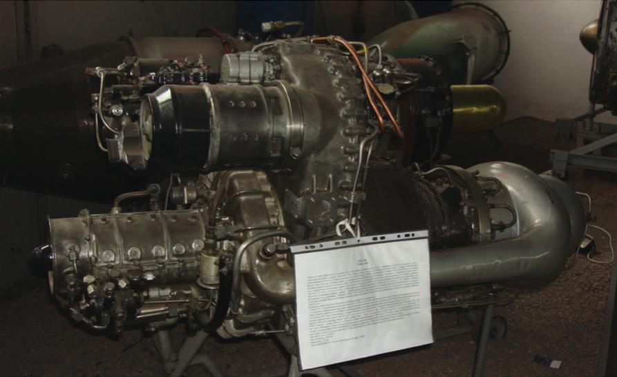 Silnik PZL GTD-350. 2009 rok. Zdjęcie Karol Placha Hetman