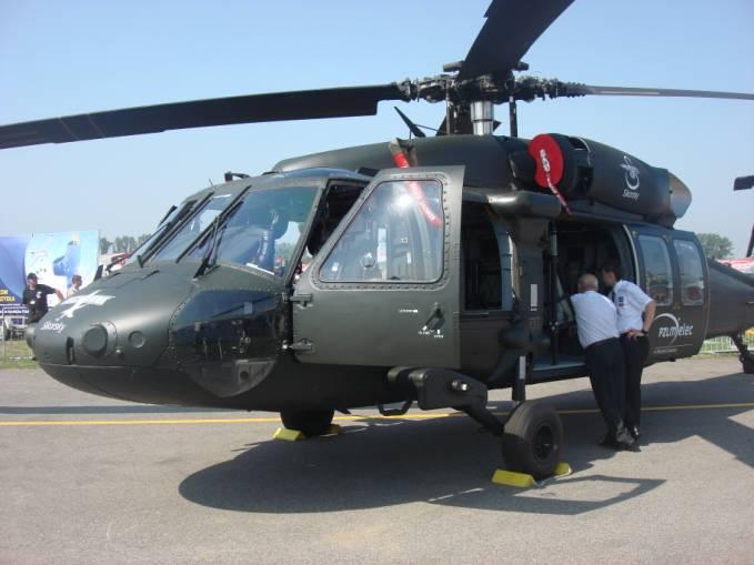 Black Hawk podczas Air Show Radom 2011r.