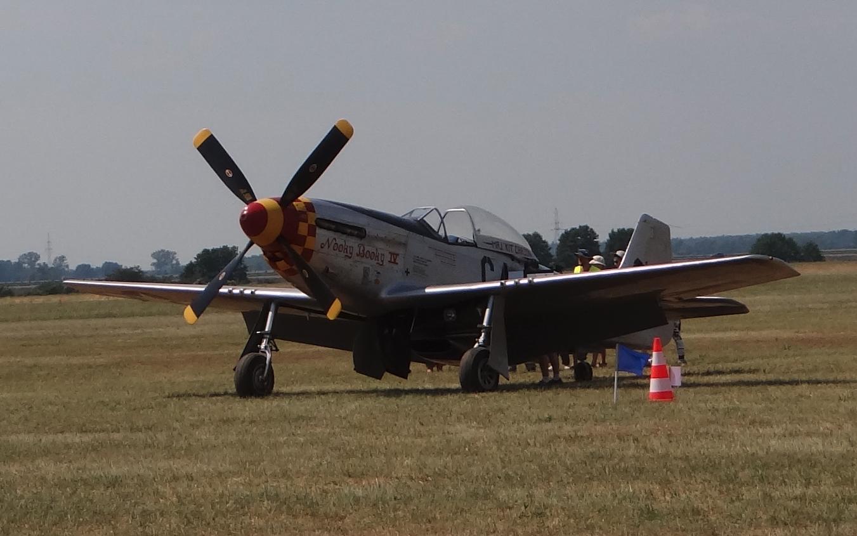 North American P-51 Mustang. Leszno 2021. Photo by Karol Placha Hetman