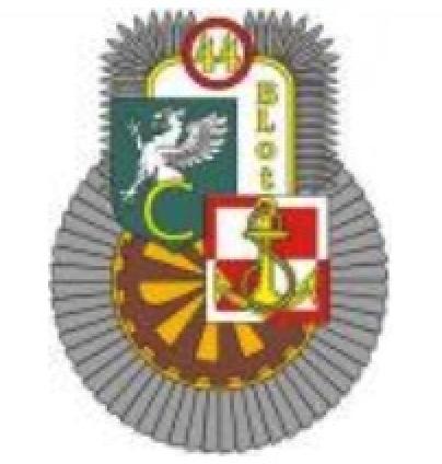 The emblem the 44 NAVY Air Base