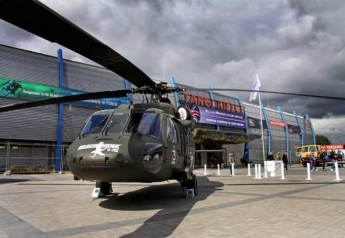 Black Hawk na Targach Kielce. 2011r.