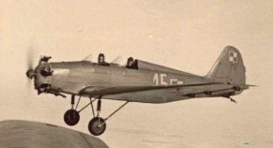 Jakowlew UT-2. Dęblin 1945 rok. Zdjęcie LAC