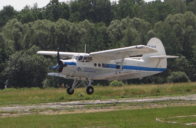 An-2 SP-AOB. The airport Muchowiec 2019. Photo Karol Placha Hetman