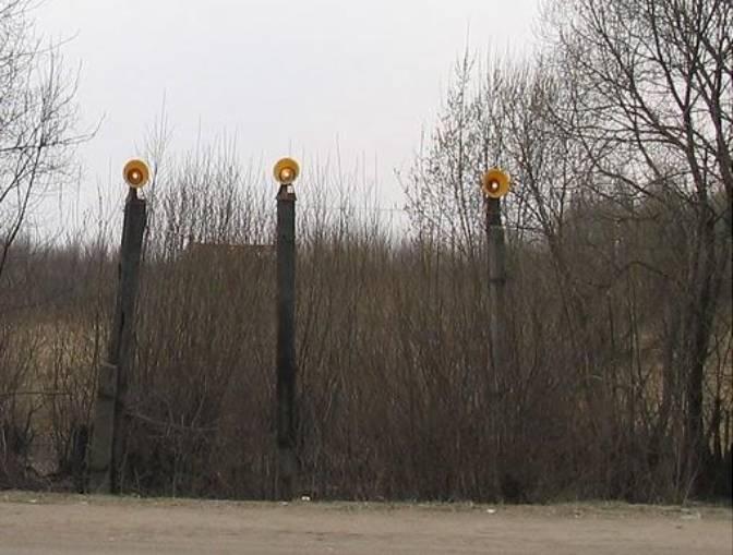 Oświetlenie podejścia do lądowania w Smoleńsku. 2010 rok. Zdjęcie LAC