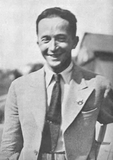 Pułkownik pilot Jerzy Bajan. 1934r.