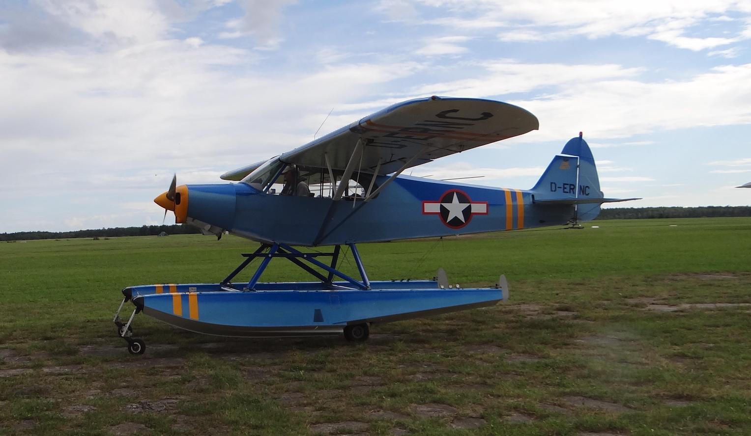 Piper PA-18-150 Super Cub, D-ERNC. 2018 rok. Zdjęcie Karol Placha Hetman