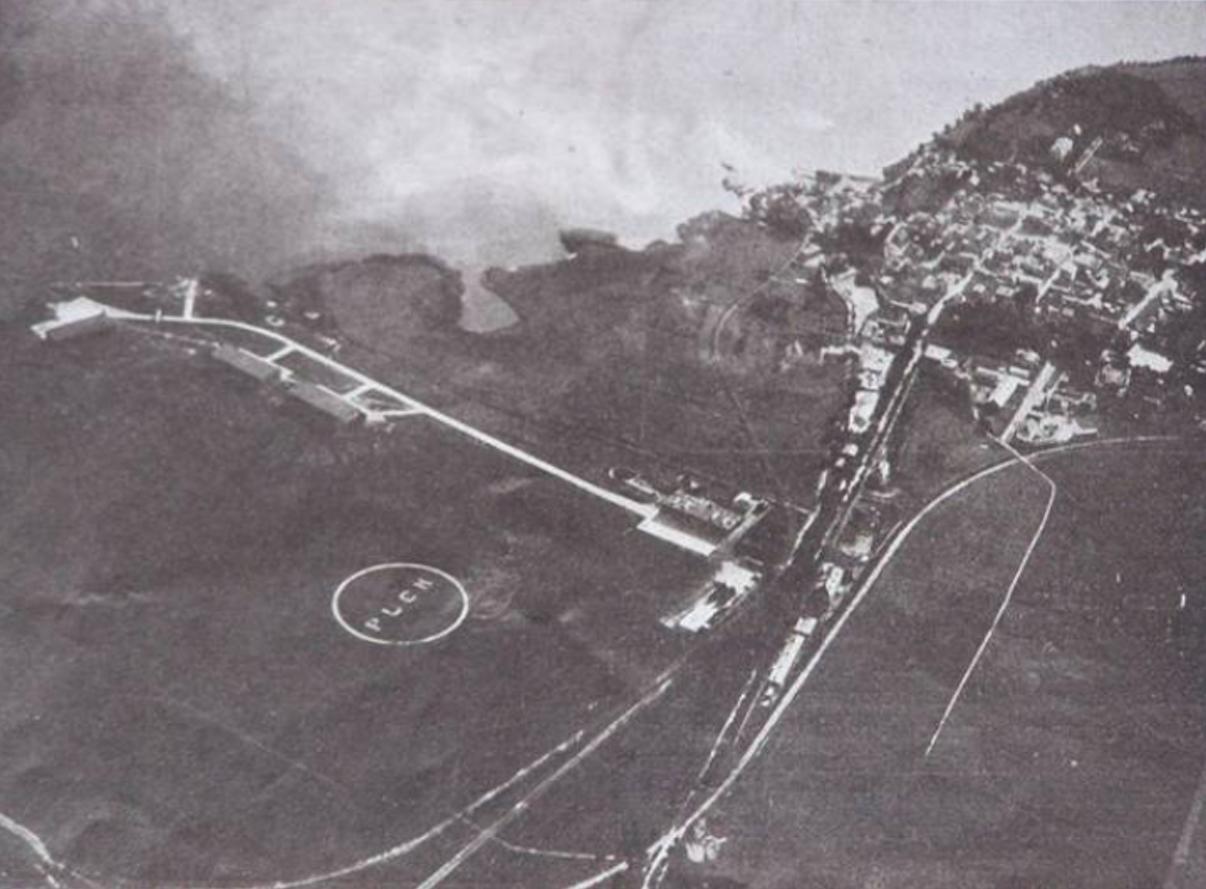 Pole wzlotów Lotniska w Pucku. 1926 rok. Zdjęcie muzeum historyczne