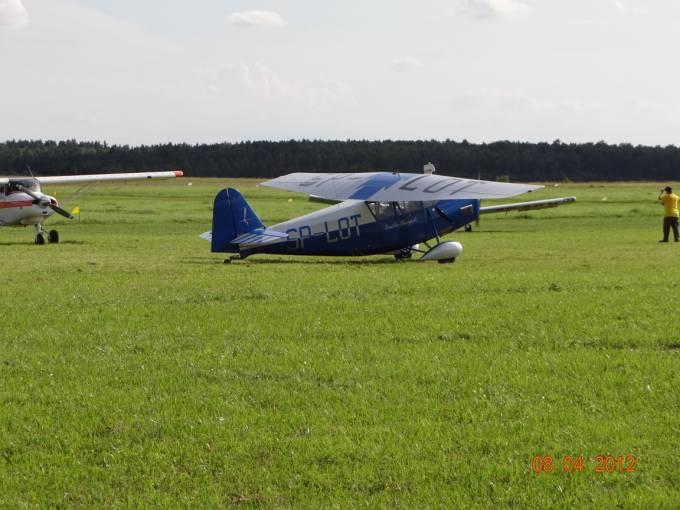 Replika RWD-5 Lotnisko Wilamowo 2012r.