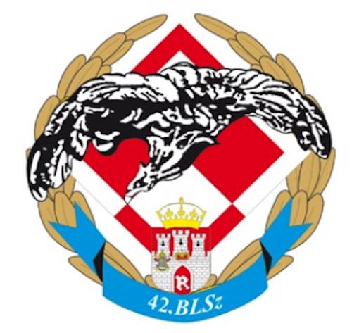The emblem the 42 School Aviation Base in Radom