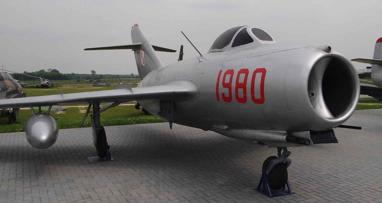 MiG-15 bis nb 1980. 2012 year. Photo by Karol Placha Hetman