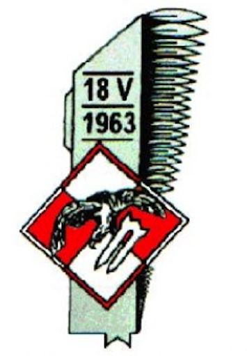 The emblem the 56 56 Regiment of Combat Helicopters