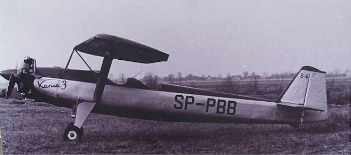PZL S-4 Kania 3 rejestracja SP-PBB. Zdjęcie LAC