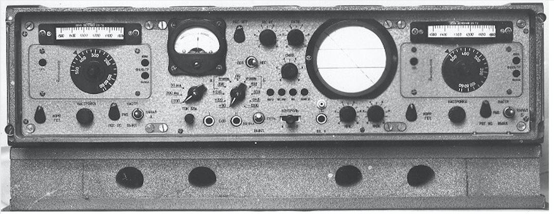 Przystawka telegraficzna TOPOL-2M. Zdjęcie z instrukcji technicznej
