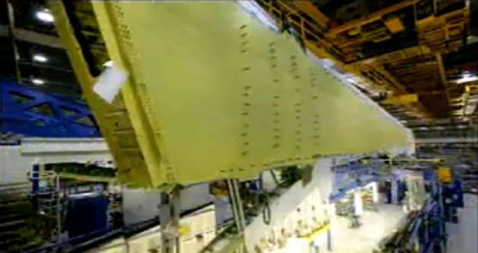 Skrzydło Boeing 737. Renton 2011r.
