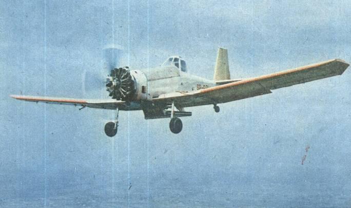PZL M-18 Dromader. 1985r.