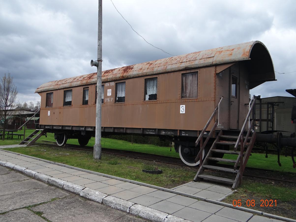 Wagon BCi nr 014195 klasy 2/3. 2021 rok. Zdjęcie Karol Placha Hetman