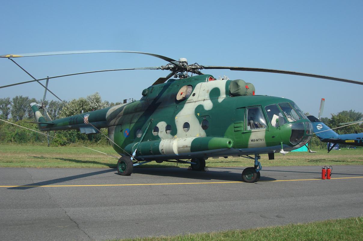 Croatia Mi-8 MTV-1 nb 211.2011 year. Photo by Karol Placha Hetman