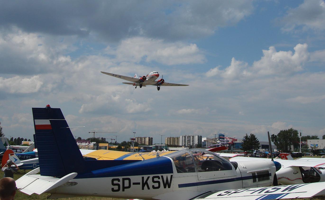 IV Małopolski Piknik Lotniczy. 2007 rok. Zdjęcie Karol Placha Hetman